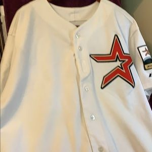 Astros Jersey 2000 Inaugural Season Size 52